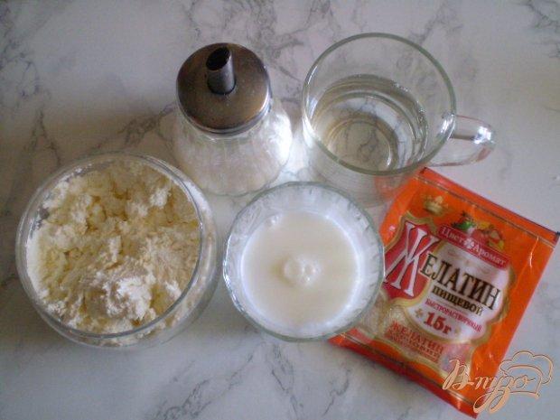 Рецепт Молочное желе с творогом