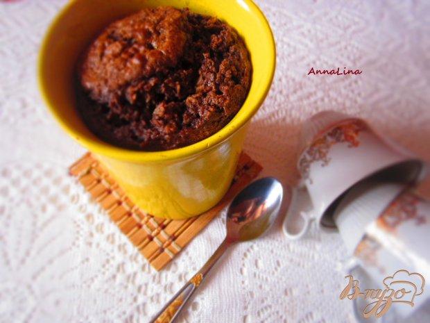 Шоколадная овсянка запеченная в духовке