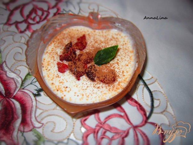 Десерт из творога и маршмеллоу