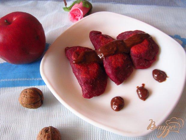 Сладкие лепешки с яблоком