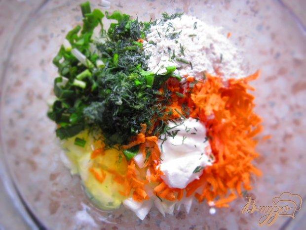 Оладьи с моркови и лука