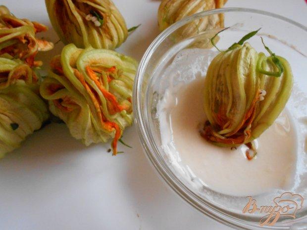 Фаршированные цветы цуккини по-критски