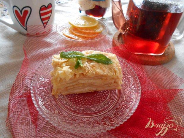 """Торт """"Наполеон"""" на скорую руку"""