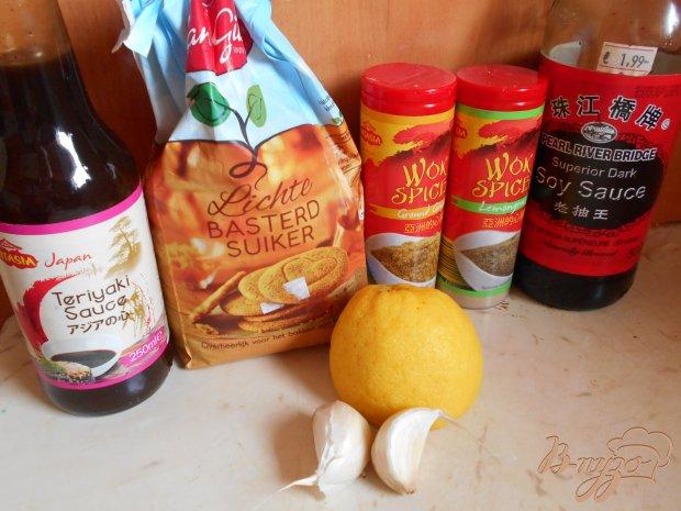 Шашлычки из куриных сердец с жаренным картофелем и овощами-гриль