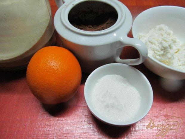 Десерт из манки творога и апельсина