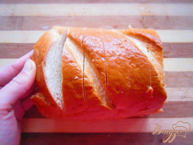 Рецепт Запеченный хлеб с начинкой
