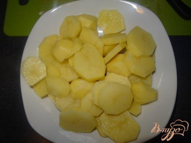 Рецепт Мясо с картофелем по французски