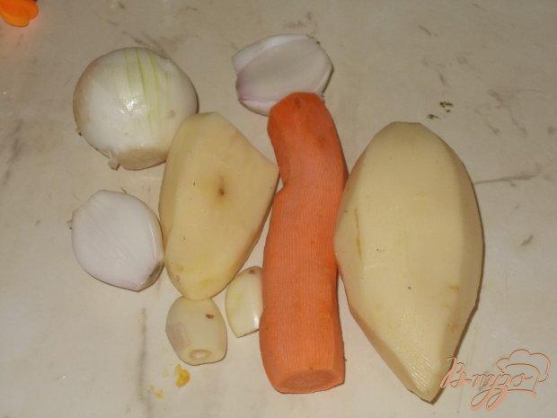 Окра с овощами