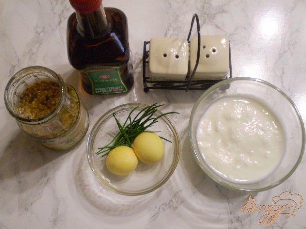 Рецепт Заправка для салатов на кефире