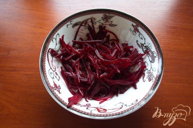 Свекольный салат с сыром без майонеза