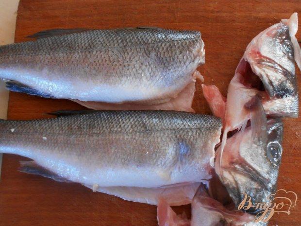 Рецепт Рыба-гриль с теплым салатом из редиса, фенхеля и рукколы.