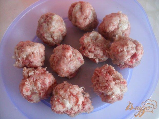 Рецепт Вермишелевый суп с фрикадельками