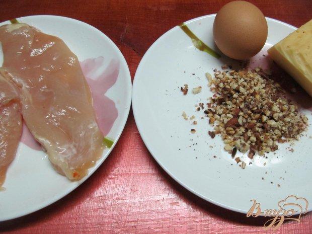 Рецепт Куриные отбивные в сырно-ореховой панировке