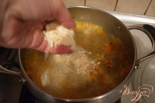 Суп-затирка с курицей