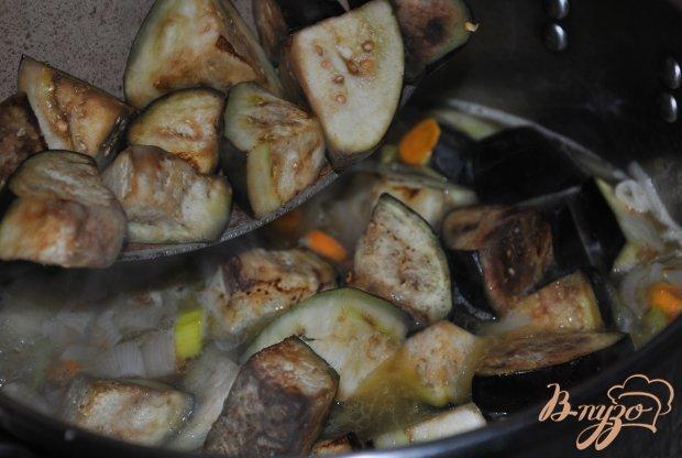 Рагу с картофелем и баклажаном