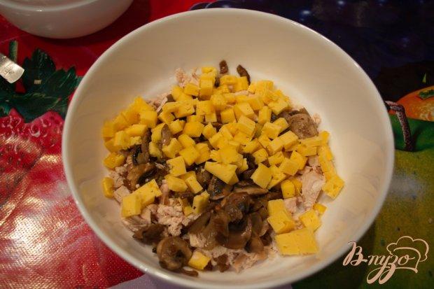 Зимний салат с изюмом