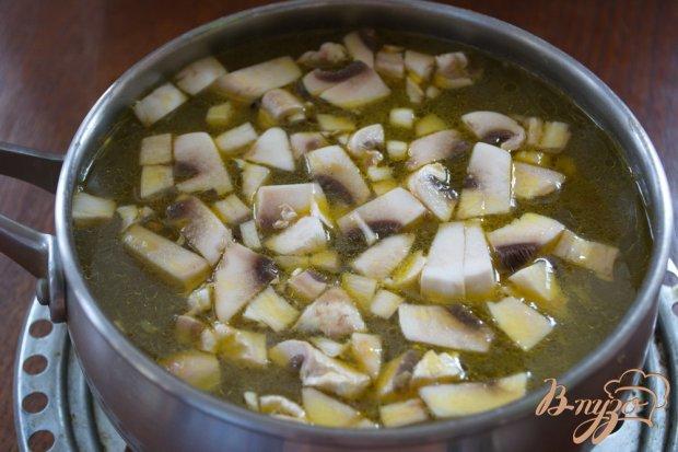 Наваристый суп на мясе с макаронами