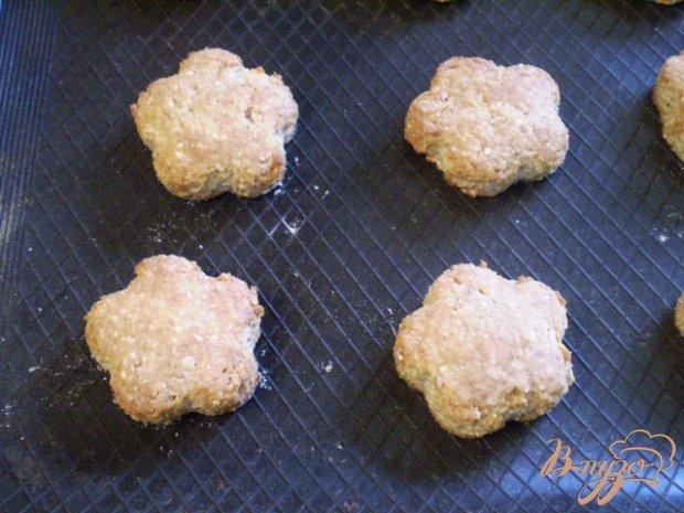 Гречневое печенье с творогом