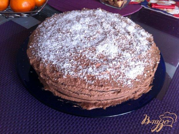 "Шоколадный торт ""Пломбир"""