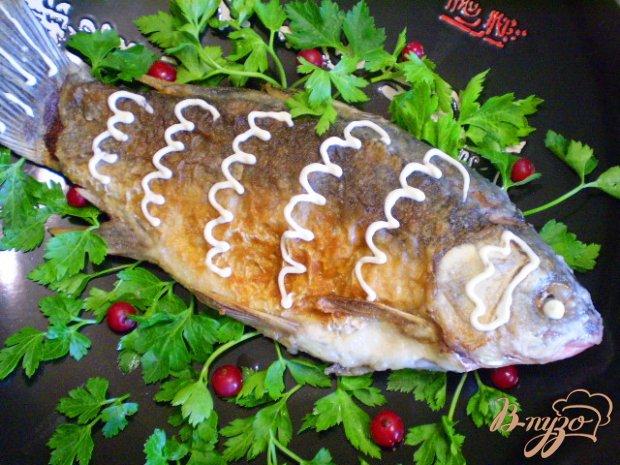 Рыба в майонезе жареная