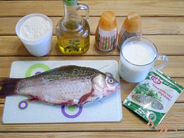 Рецепт Жареная рыба в молоке