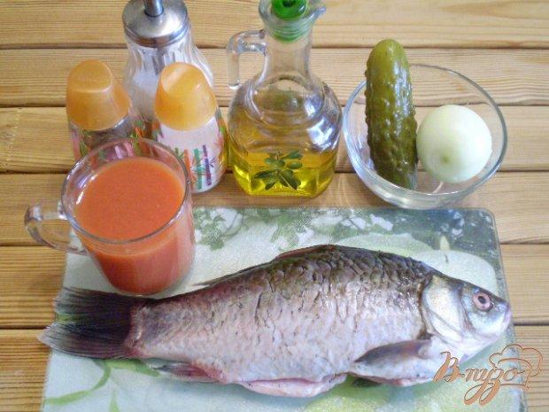 Рецепт Жареная рыба с подливой