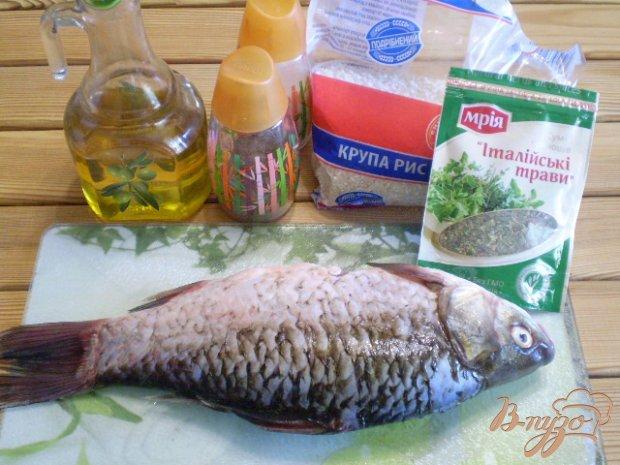 Рецепт Жареная рыба с рисом