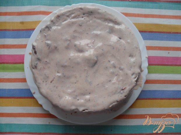 """Торт """"Негр в пене"""" с готового бисквита"""