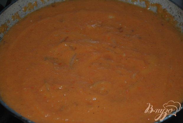 Макароны с манговым соусом