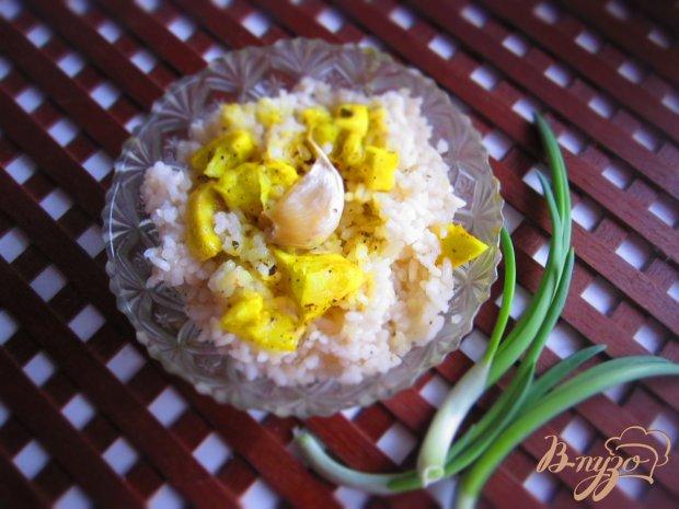 Рис по индийски с лимоном