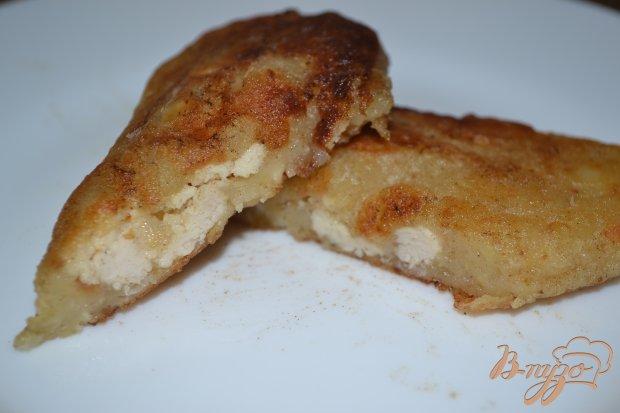 Картофельные зразы с куриным варшем