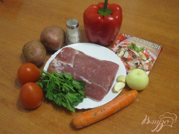 Рецепт Мясное рагу в мультиварке