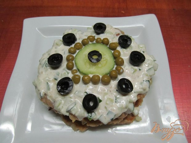 Мясной мини-торт