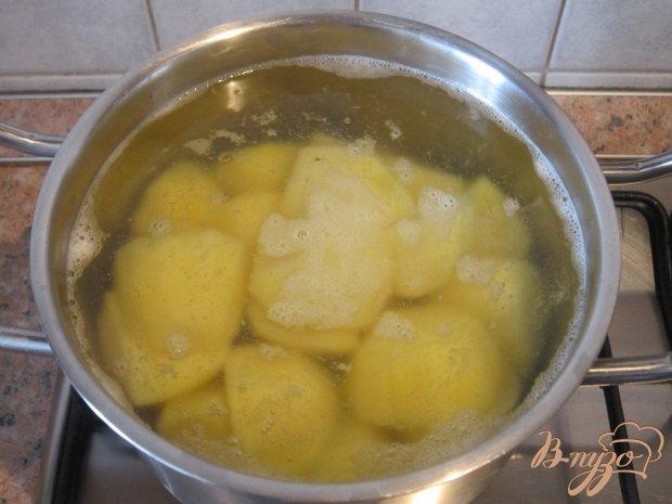 Запеканка с картофельным пюре и фаршем