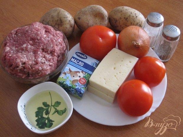 Рецепт Запеканка с картофельным пюре и фаршем