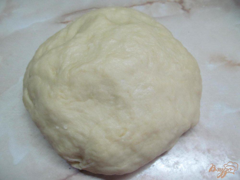Фото приготовление рецепта: Булочки Синнабон шаг №4