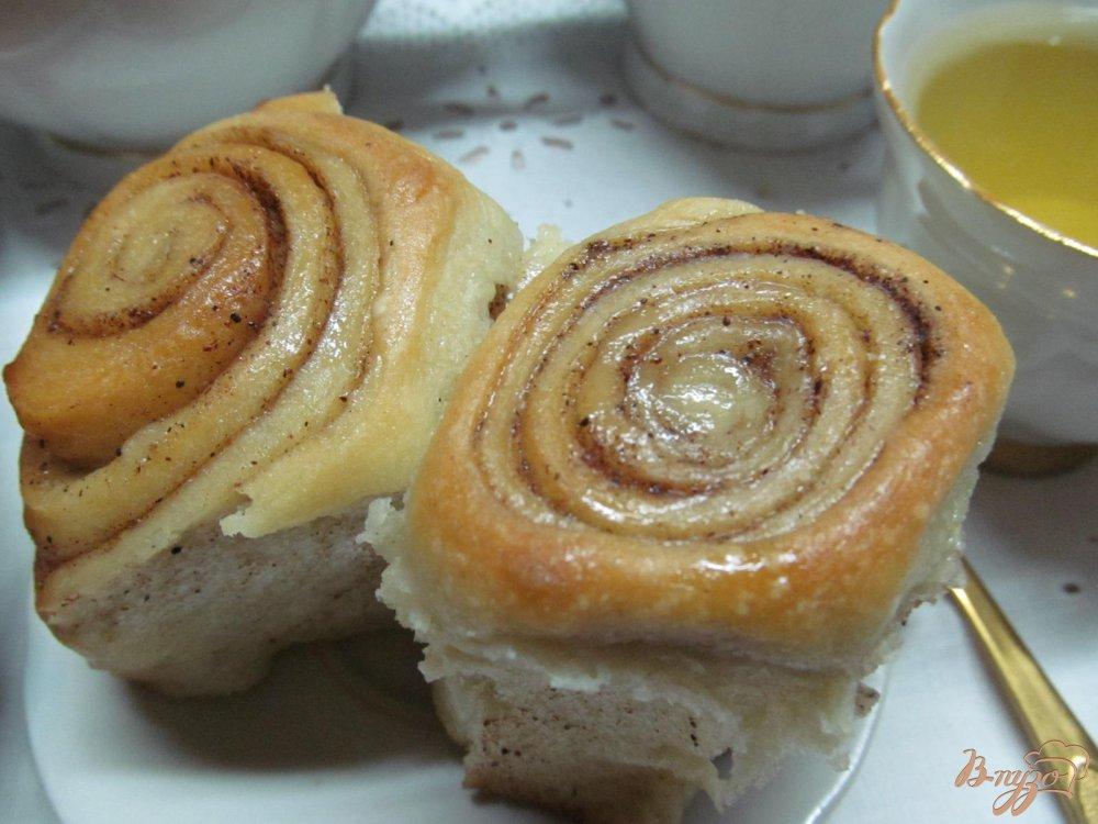 Булочки синнабон рецепт пошагово с в