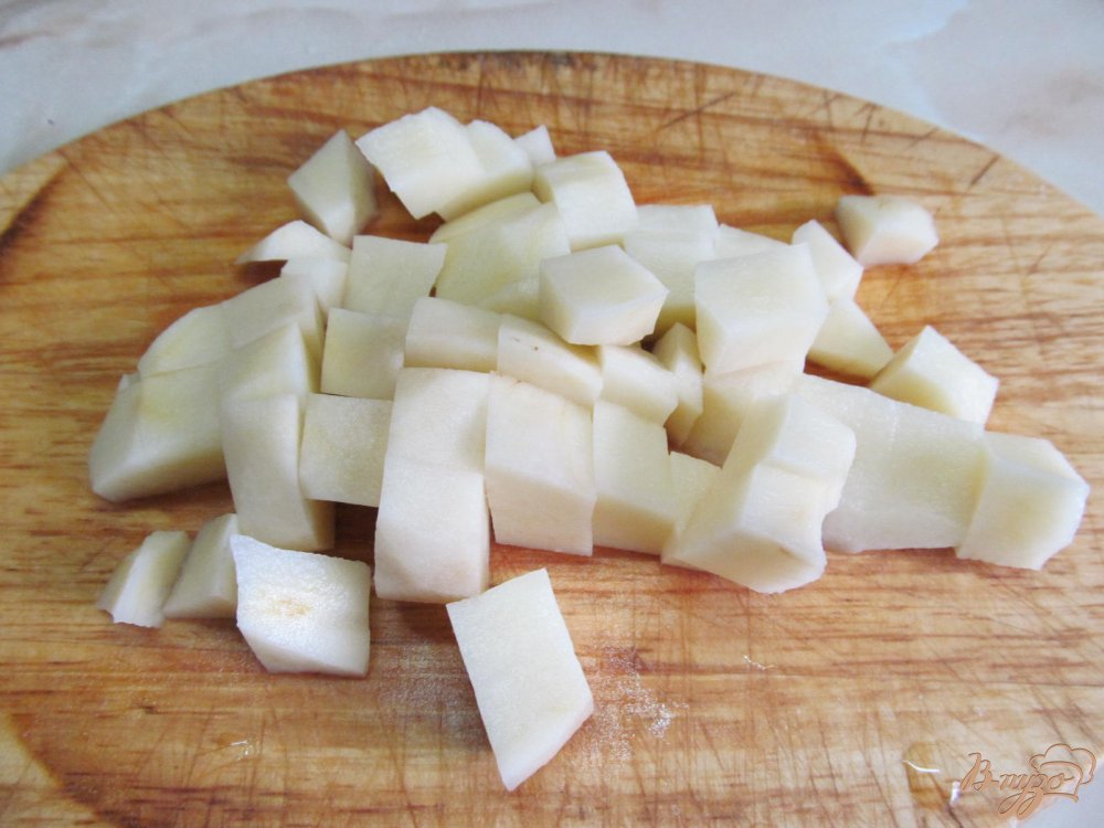 Фото приготовление рецепта: Суп домашний шаг №2