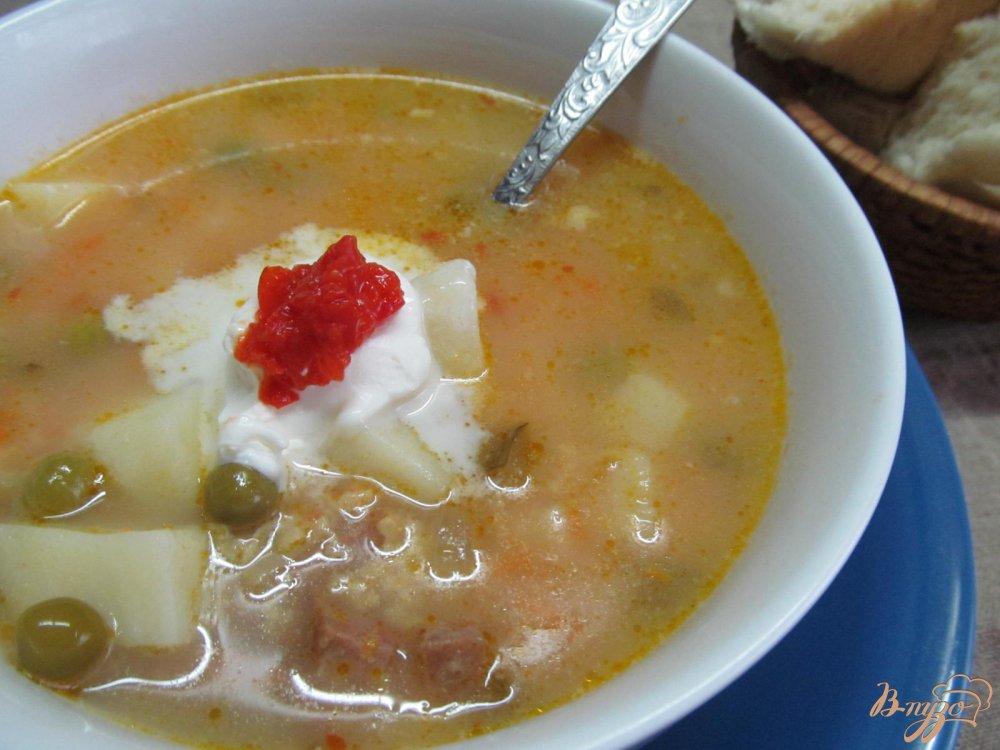 Фото приготовление рецепта: Суп домашний шаг №9