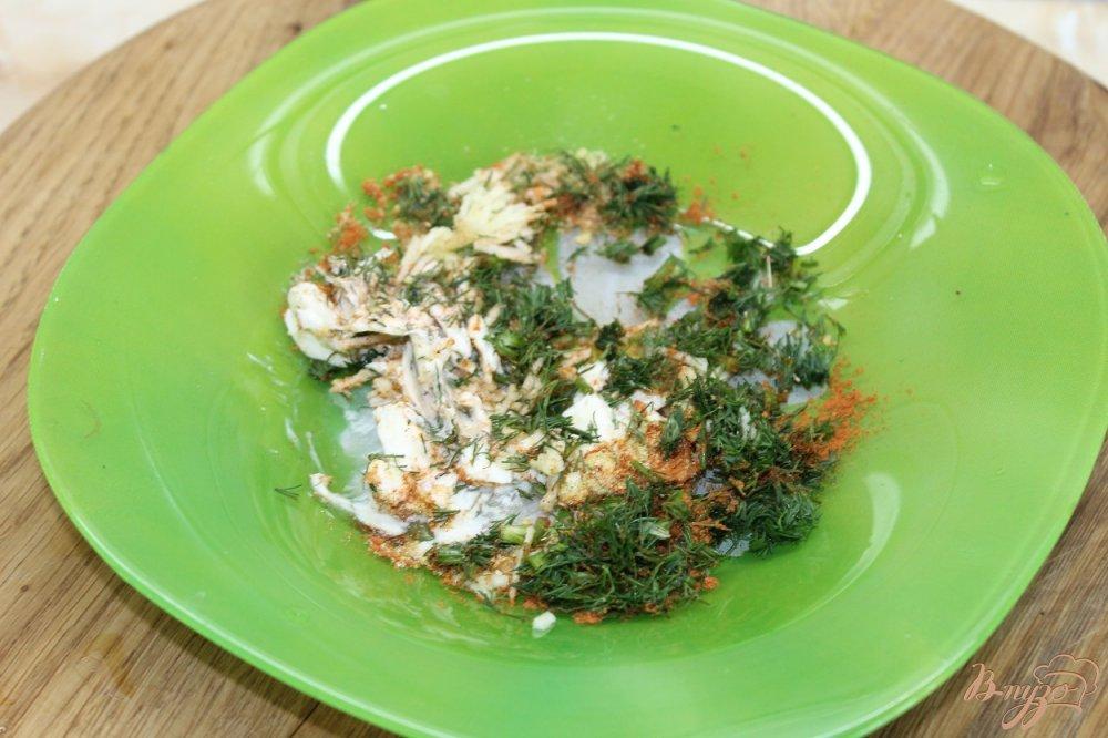 Фото приготовление рецепта: Картофель по - креольски с соусом шаг №5