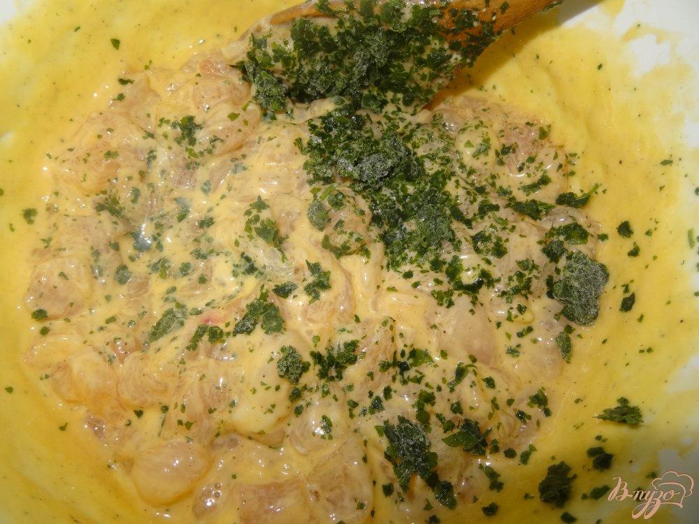 Фото приготовление рецепта: Рубленые котлеты из куриного филе шаг №3