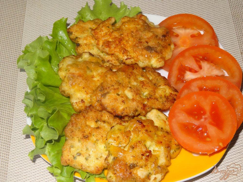Фото приготовление рецепта: Рубленые котлеты из куриного филе шаг №6