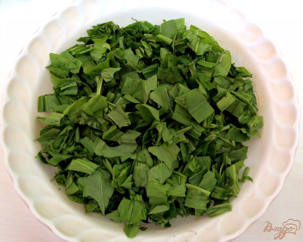 Фото приготовление рецепта: Суп со щавелем и шпинатом (постный) шаг №8