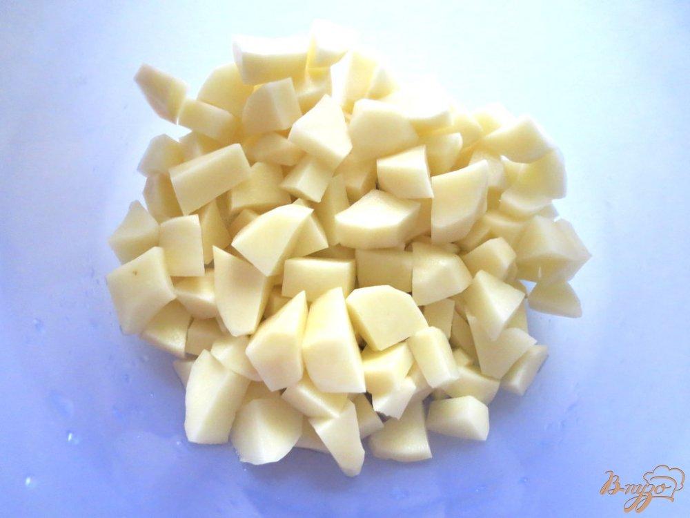 Фото приготовление рецепта: Суп со щавелем и шпинатом (постный) шаг №2