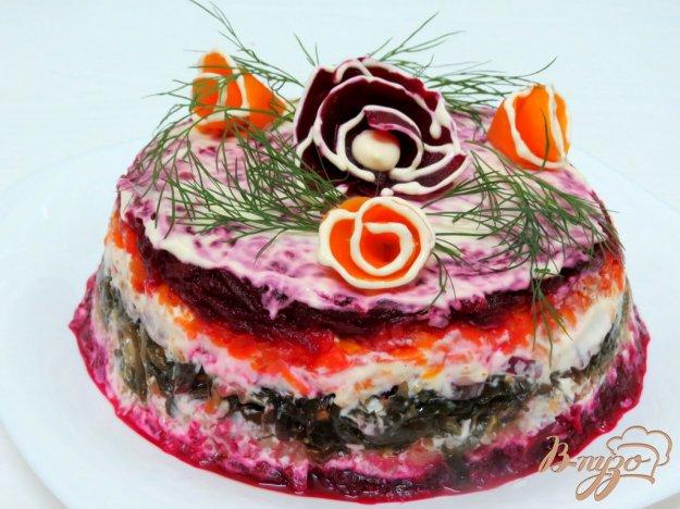 рецепт салат из свеклы и капусты рецепт