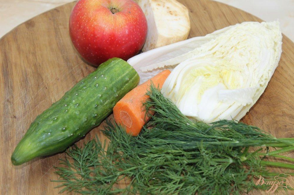 Фото приготовление рецепта: Салат для поддержания фигуры шаг №1