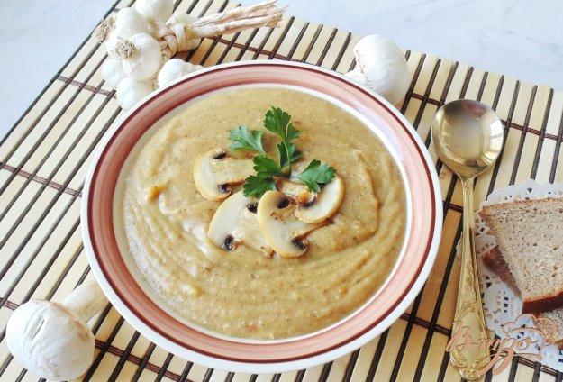 фото рецепта: Суп-пюре из шампиньонов