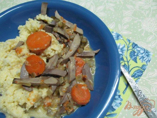 фото рецепта: Почки в сметанном соусе
