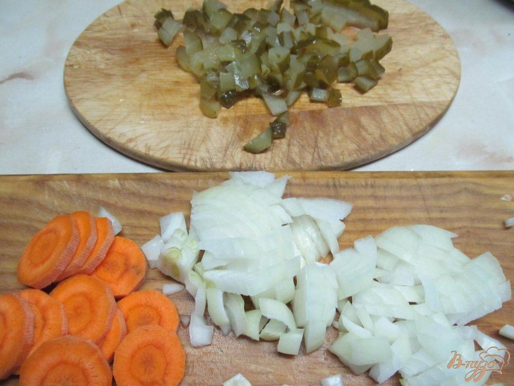 Фото приготовление рецепта: Почки в сметанном соусе шаг №3