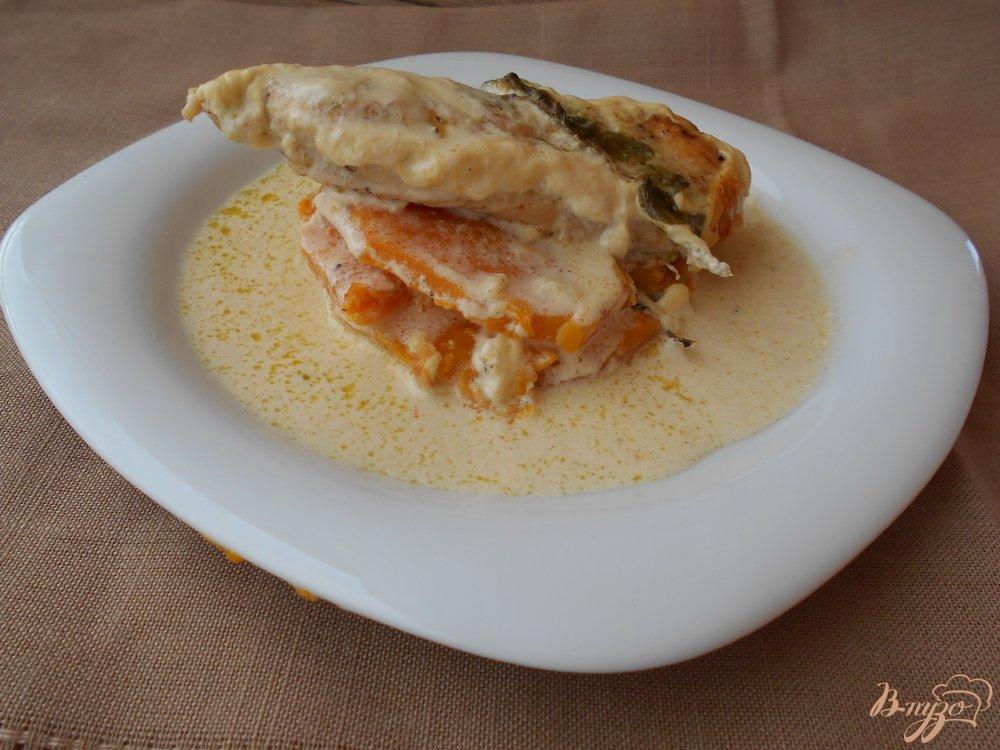 Куриное филе в сливочном соусе пошаговый рецепт с